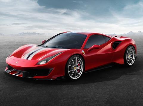 salon de ginebra 2018 Ferrari Pista