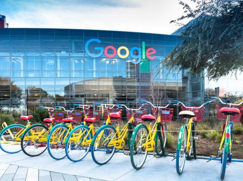 Sede de Google en Mountain View
