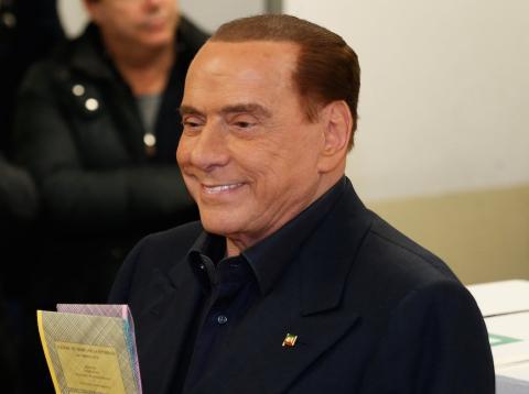 Silvio Berlusconi elecciones italianas