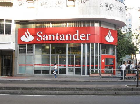 Banco santander capitalización en Europa
