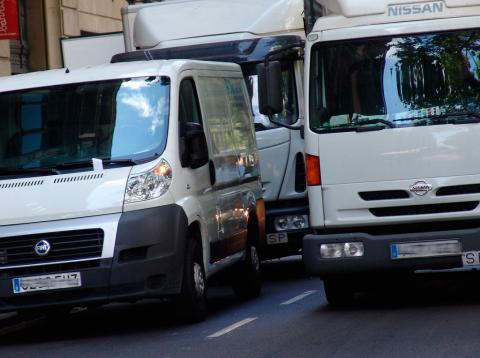 Accidentes furgoneta comercio electrónico