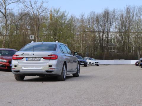 BMW está utilizando una flota de coches para recoger información sobre el coche autónomo