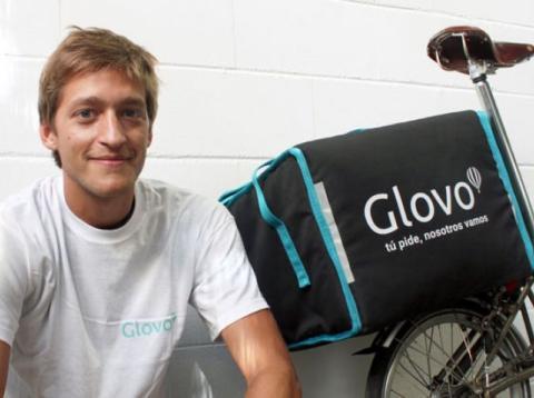 Fundador de Glovo, emprendedor joven