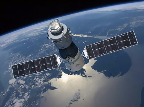 Ilustración de la Tiangong-1