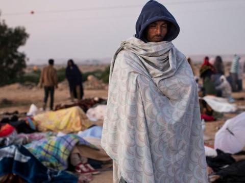 Inmigrantes africanos en Israel