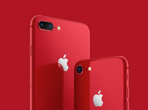 iPhone 8 en color rojo