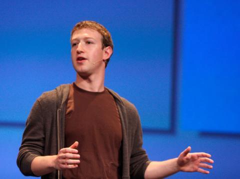 Mark Zuckerberg Flickr