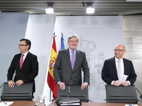 Méndez de Vigo, tras un Consejo de Ministros