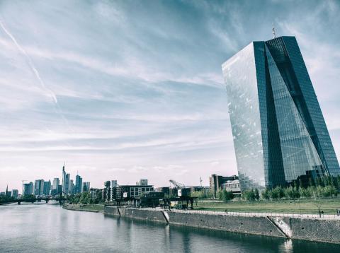 Sede del BCE, en Frankfurt