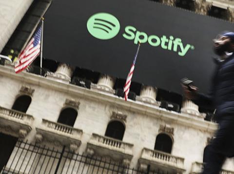Spotify en la bolsa de New York