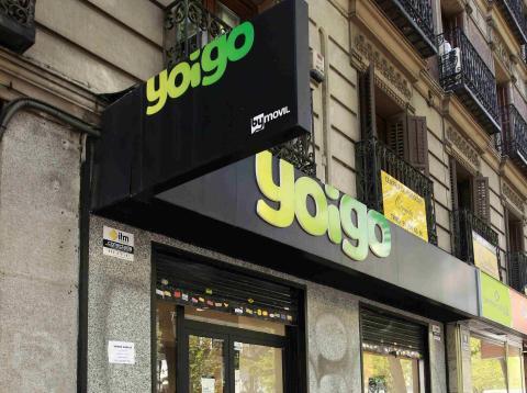 Una tienda de Yoigo