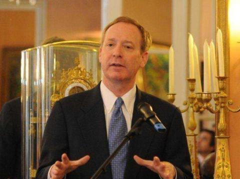 Brad Smith, presidente de Microsoft.