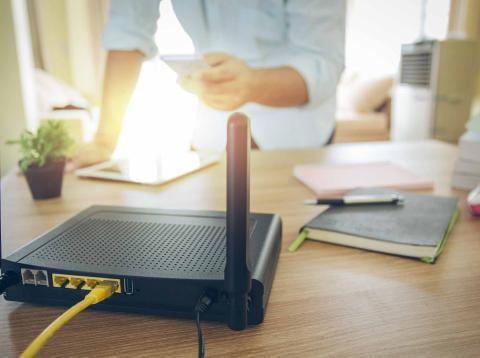 Configuración router en casa