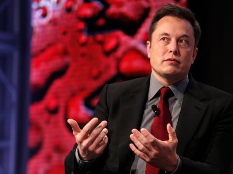 Elon Musk, el irónico