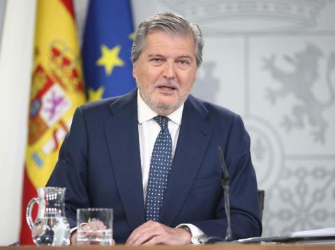 Íñigo Méndez de Vigo, tras el Consejo de Ministros