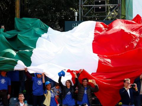 Italian is rebelling.