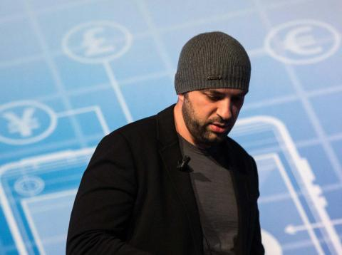 April 2018: The man who sold WhatsApp for $19 billion, Jan Koum.
