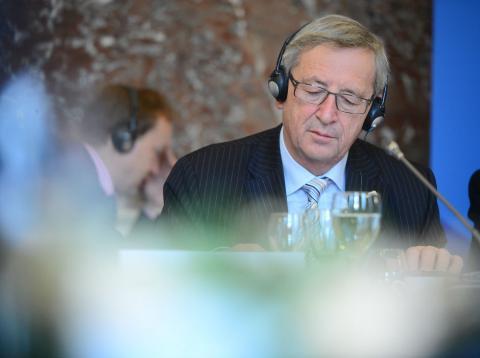 Jean Claude Jucker, presidente de la Comisión Europea