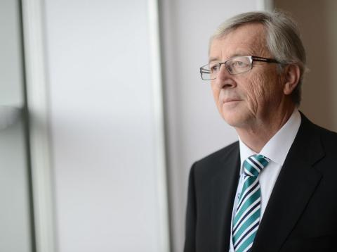 Jean Claude Juncker, presidente de la Comisión Europea