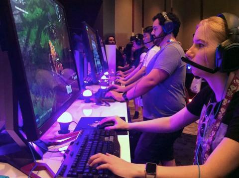 Jugadores de Fortnite