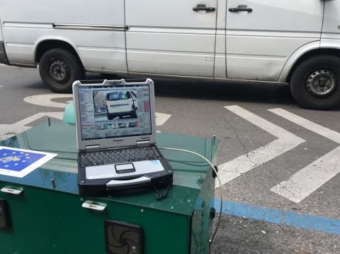 Madrid estrena un radar para medir la contaminación real de cada coche