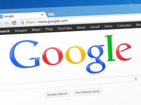 Una pestaña de Google