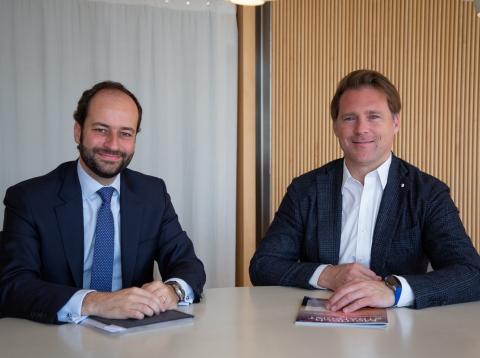 Raúl Rodríguez, director de BS Capital, y Josep Lluís Sanfeliu, gestor de Asabys Partners