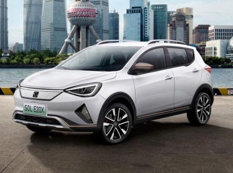 Sol E20X, el primer coche de Seat en China