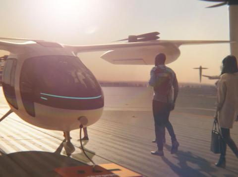 uber presenta prototipos taxi volador