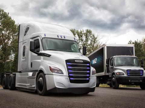 camiones eléctricos mercedes