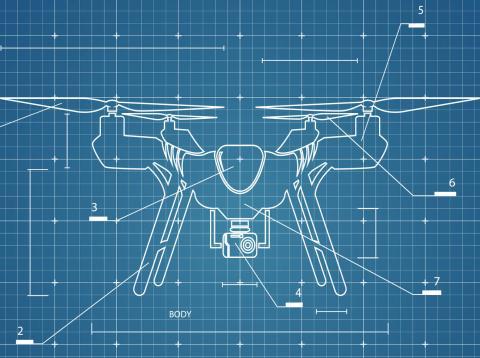 Drones de Facebook