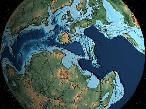 España hace 120 millones de años