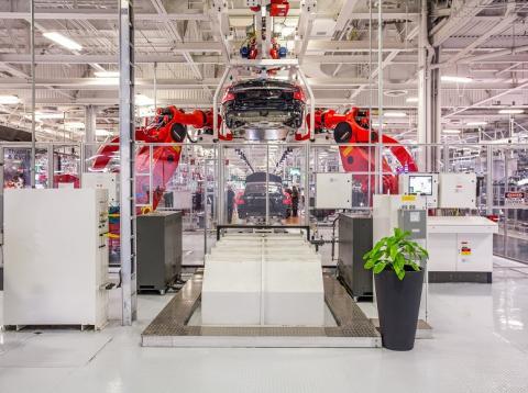 RE Una fábrica de Tesla