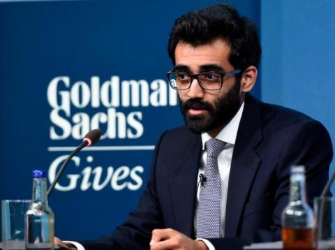 banquero de [re ]Goldman Sachs quiere acabar crisis agua