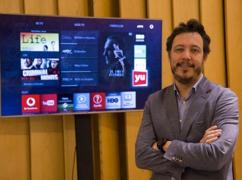 Ignacio García-Legaz, director de Vodafone TV