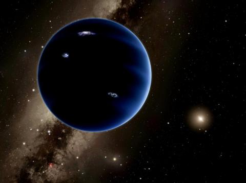 An illustration of Planet X, which is sometimes called Planet Nine.