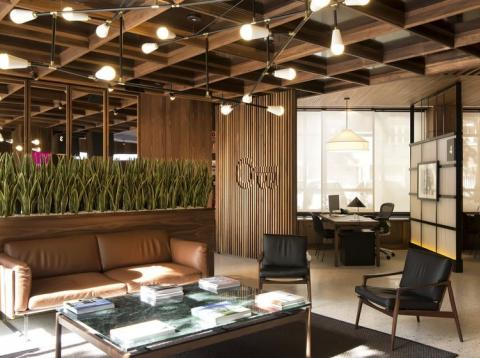 Una imagen de las oficinas de Openbank.