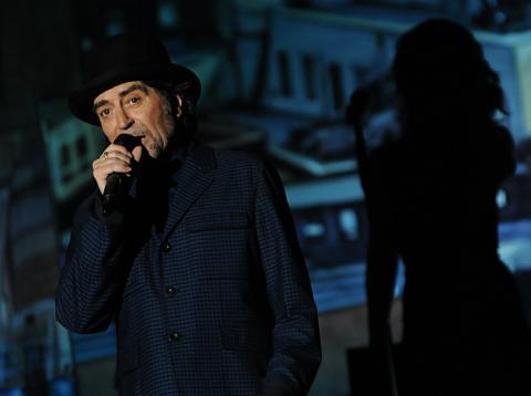 Joaquín Sabina, en un concierto