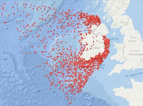 This map shows 3554 shipwrecks around ireland as far back as 1530 this map shows 3554 shipwrecks around ireland as far back as 1530 and most are gumiabroncs Gallery