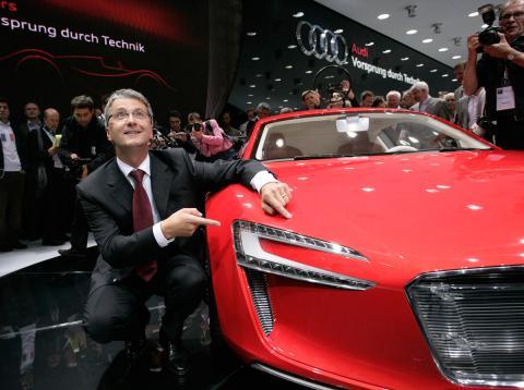 Los planes de Audi seguirán adelante a pesar de la detención de su CEO.