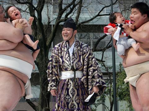 Sumo Japon Bebes
