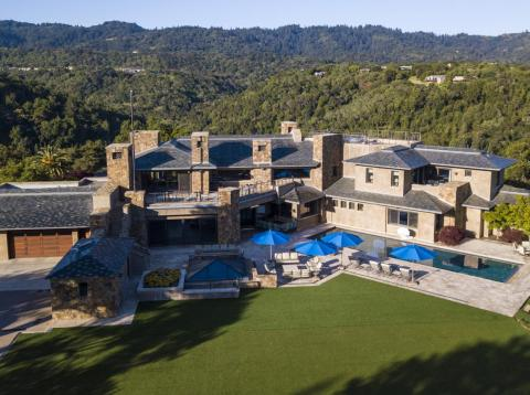 A tech billionaire just listed his Palo Alto home for $100 million, the most expensive Bay Area listing in a decade — take a look inside