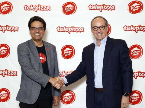 Telepizza y Pizza Hut