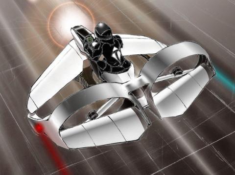 Vehículo volador TeTra