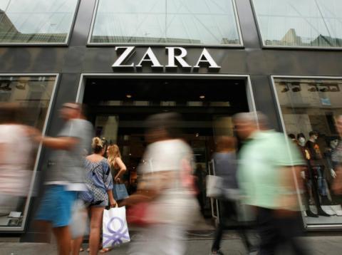 Establecimiento Zara.