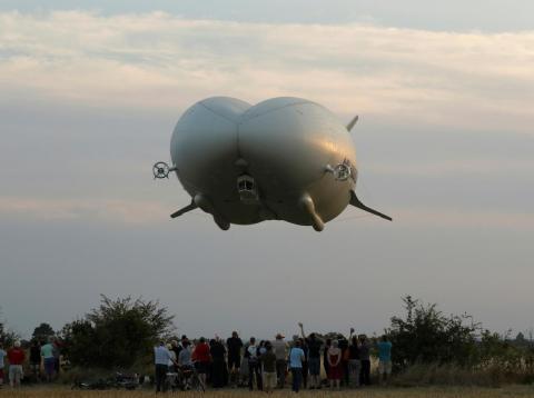 The Airlander 10 hybrid airship.