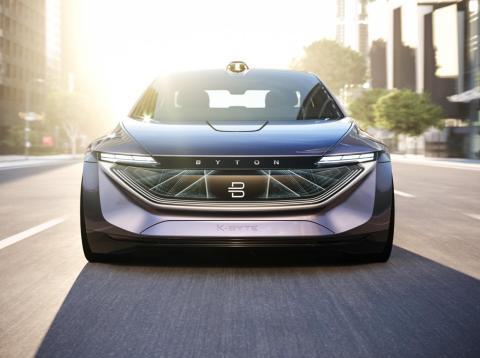 Byton will release its K-Byte electric sedan in 2021.