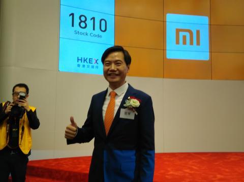 El CEO de Xiaomi, Lei Jun.