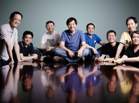 Cofundadores de Xiaomi