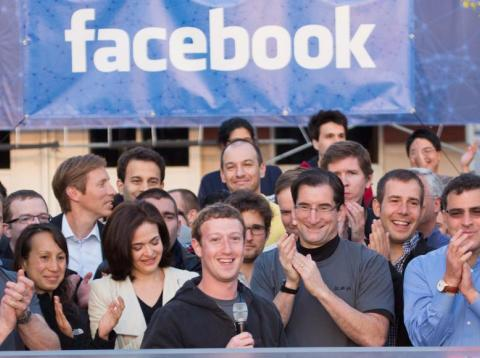 Una inversión temprana en Facebook valdría cinco veces más a día de hoy